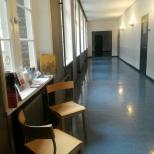 wachtruimte op de 2e verdieping